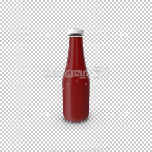 تصویر دوربری سه بعدی سس کچاپ