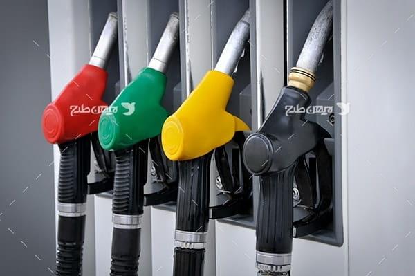 تصویر دستگیره پمپ بنزین