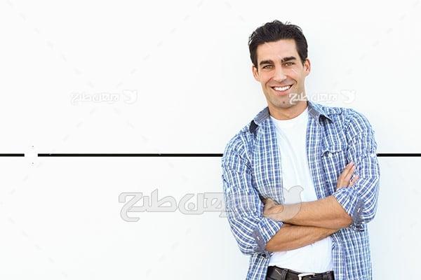عکس تبلیغاتی آقا