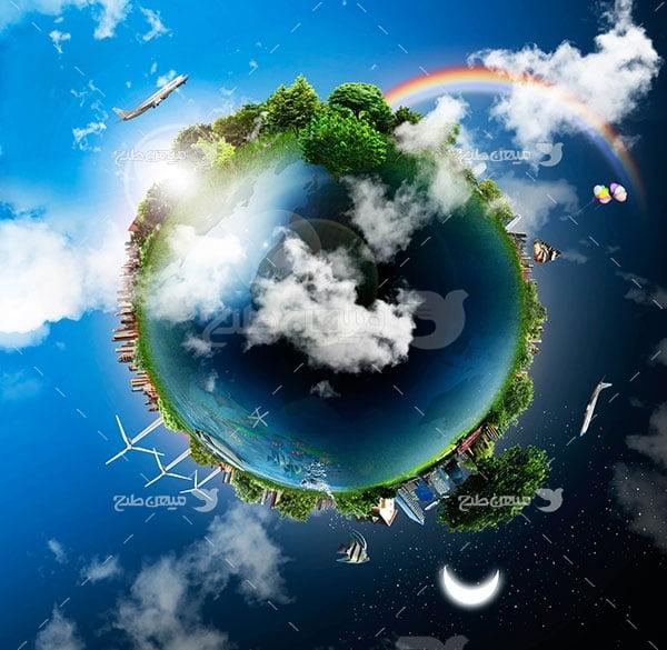 عکس محیط زیست کره زمین