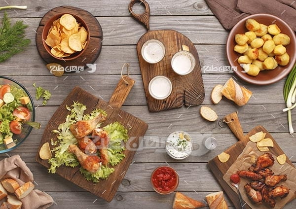 غذا و سالاد