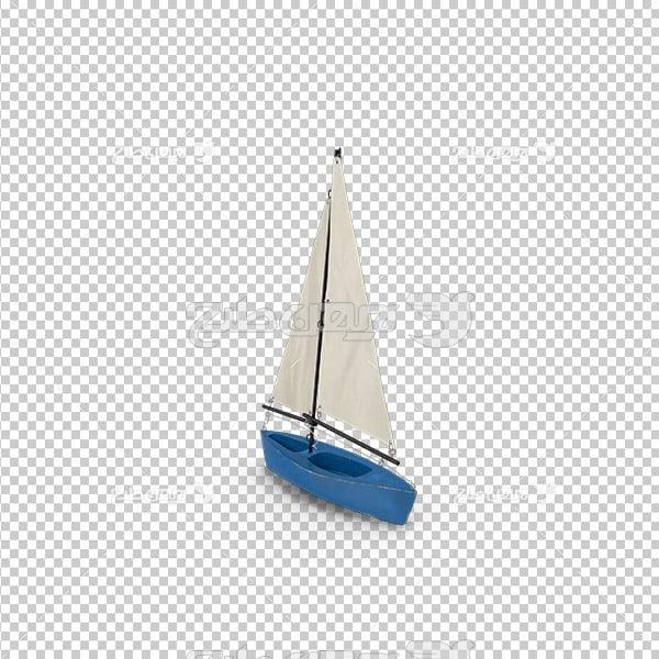 تصویر دور بری سه بعدی قایق