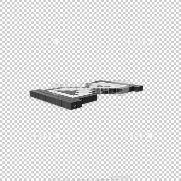 تصویر سه بعدی دوربری ساعت شنی