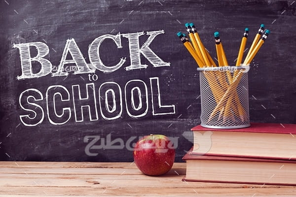عکس لوازم التحریر و مدرسه