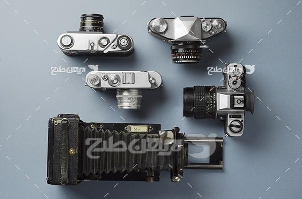 عکس دوربین قدیمی