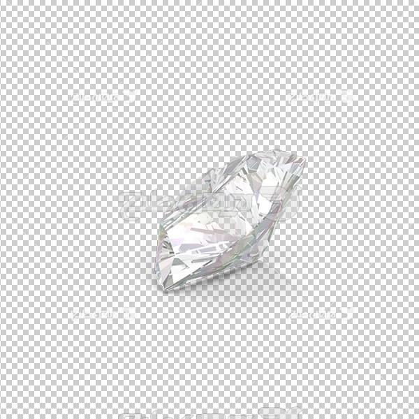 تصویر برش خورده سه بعدی الماس