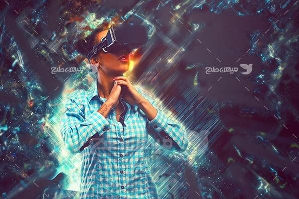 عکس دستگاه واقعیت مجازی