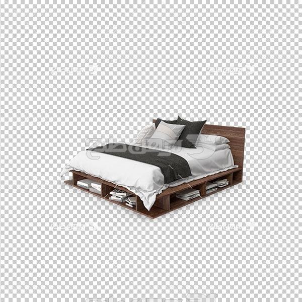 تصویر دوربری تخت خواب
