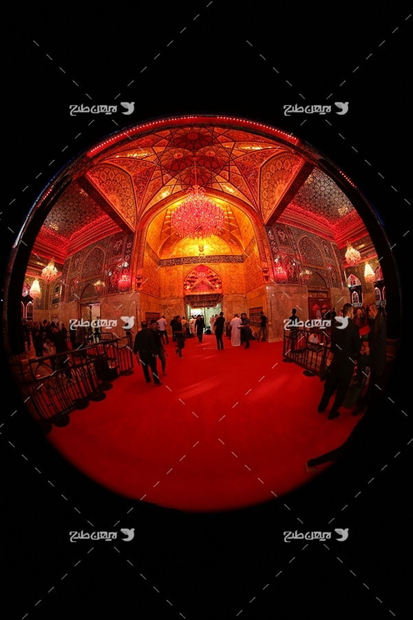 تصویر با کیفیت از صحن امام حسین علیه السلام