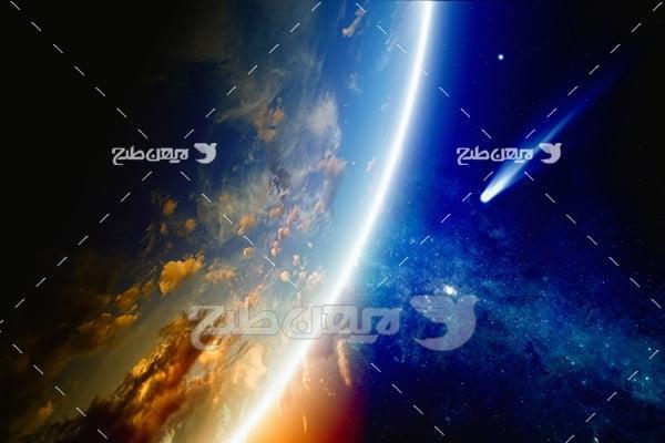 عکس فضایی