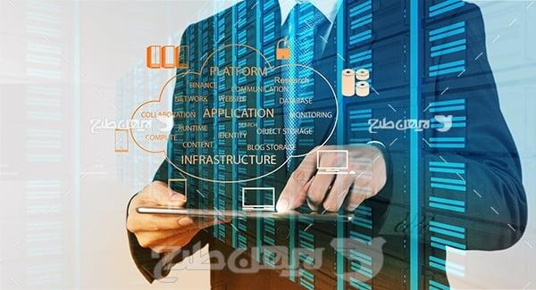 عکس کامپیوتر و تکنولوژی