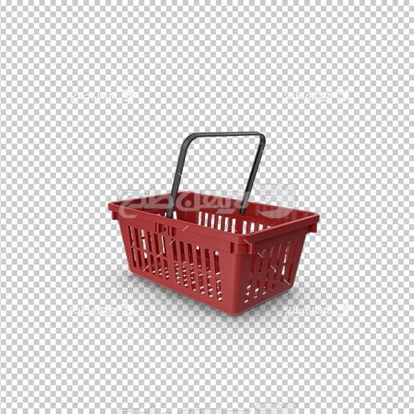 تصویر دوربری پی ان جی سبد خرید