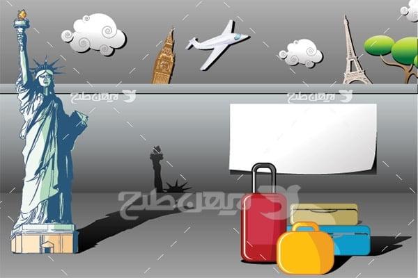 وکتور گردشگری و سفر