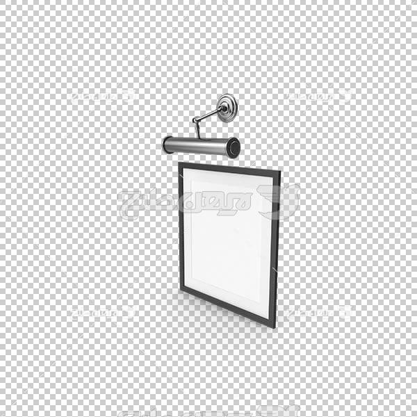 تصویر سه بعدی دوربری قاب و فریم