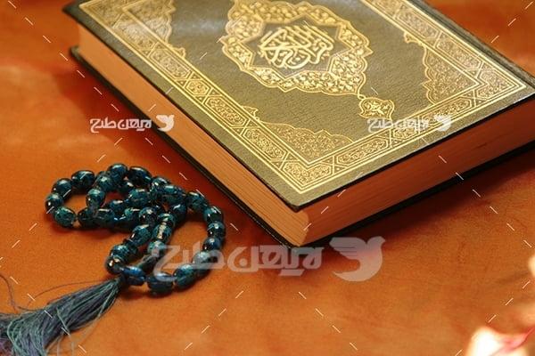 عکس مذهبی قرآن و تسبیح