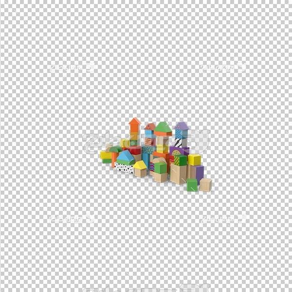 تصویردوربری سه بعدی سازه اسباب بازی