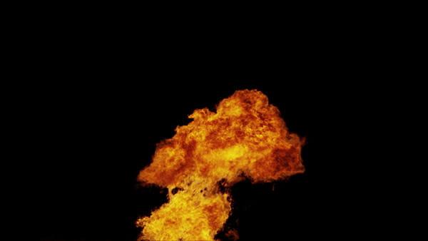 فوتیج ویدیویی آتش