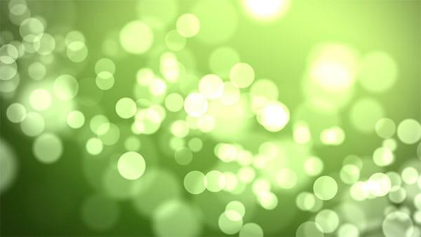 بک گراند ویدیویی بوکه زمینه سبز