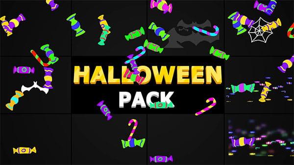 پروژه پریمیر المنت هالووین