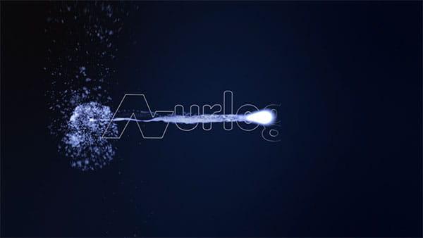 پروژه افترافکت لوگو ذرات