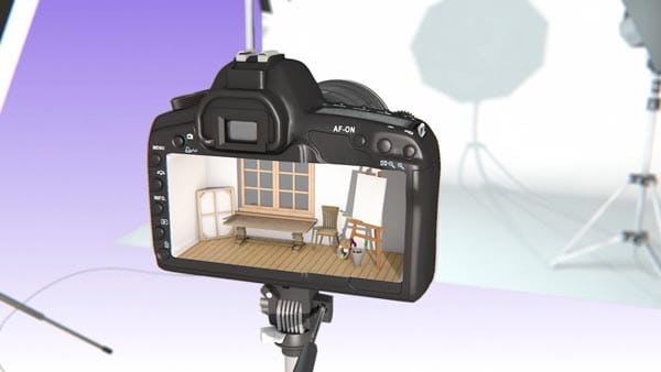پروژه افترافکت نمایش لوگو استدیو عکاسی و فیلمسازی