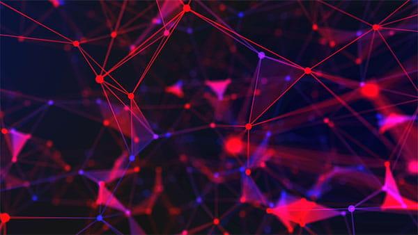 بک گراند ویدیویی اشکال هندسی، شبکه