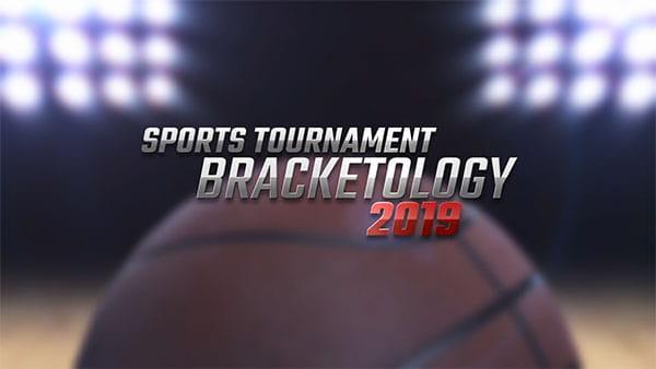 پروژه افترافکت جدول عنوانمسابقات ورزشی براکت، بسکتبال