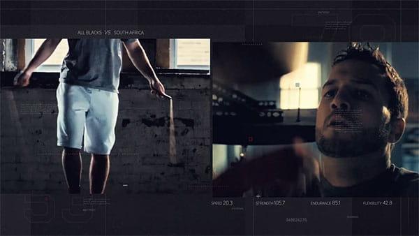 پروژه افترافکت تبلیغات تلویزیونی ورزشی