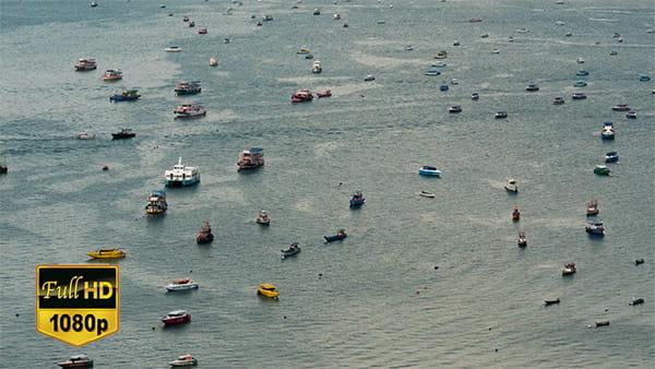 تایم لپس ویدیویی قایق و کشتی