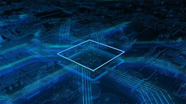پروژه افترافکت نمایش لوگو شرکت کامپیوتر