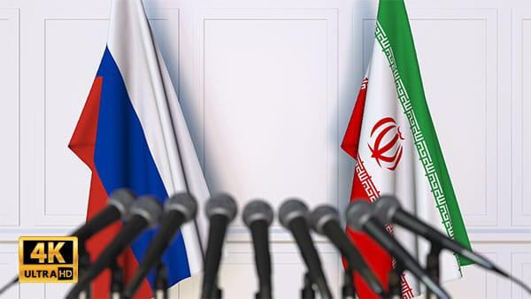 فوتیج ویدیویی مذاکره ایران و روسیه