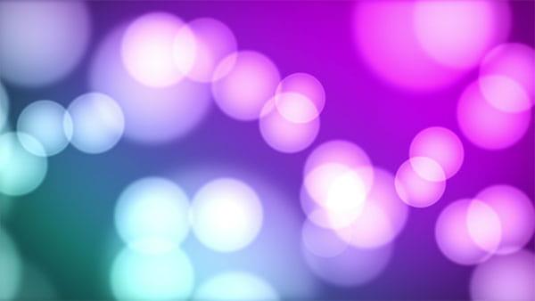 بک گراند ویدیویی بوکه رنگی