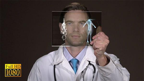 فوتیج ویدیویی پزشکی دیجیتال