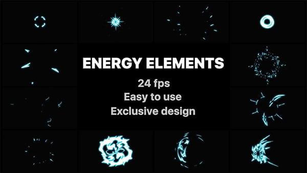 پروژه افترافکت المنت انرژی